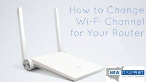 Change Wi-Fi Channel